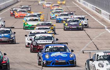 Porsche GT3 Cup USA by Yokohama